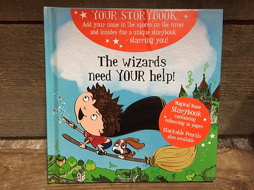 Blank The Wizards Need Your Help Magical Storytime Book