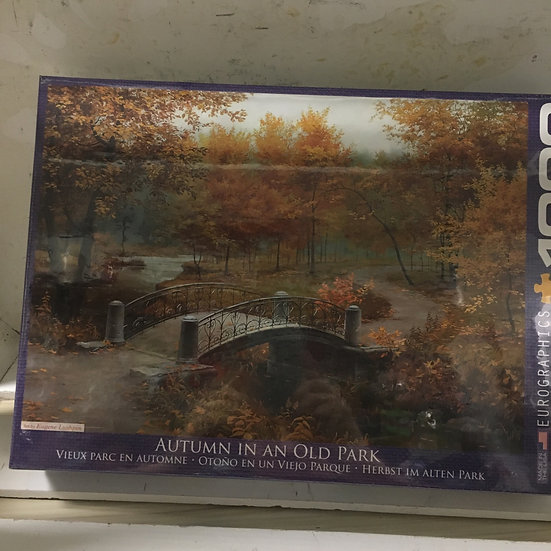 Autumn in old Park - 1000 pc Eurographics Puzzle