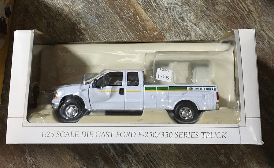 Ford F 250 Service Truck with John Deere Logo