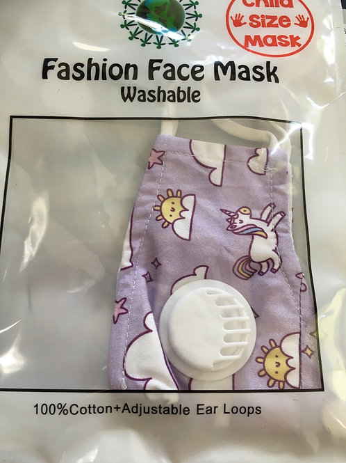 Child Size Face Mask with Filter