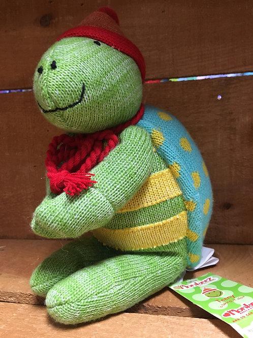 "9"" Teeny the Turtle Sock Monkeez & Friends Brand Plush Stuffed Animal"