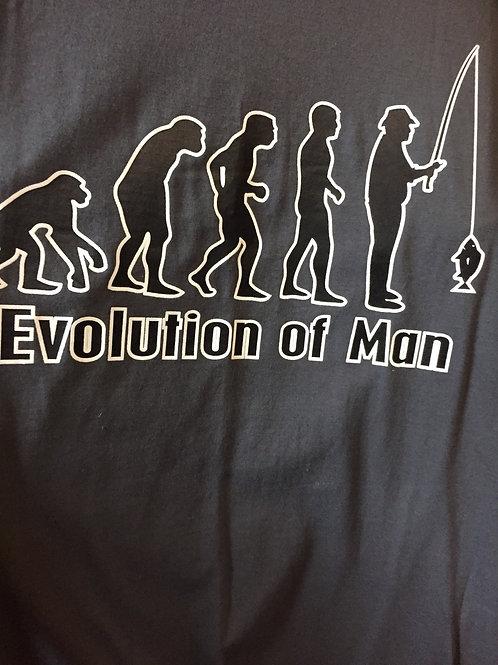 "T-shirt ""Evolution of Man"" Size M"