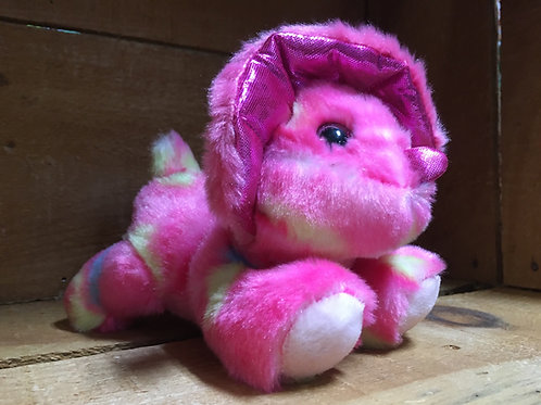 "6"" Candyapple the Triceratops Aurora Brand Plush Stuffed Animal"