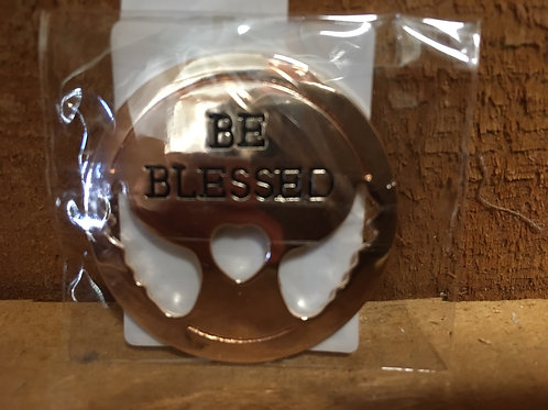 """""""Be Blessed"""" Metal Token"""