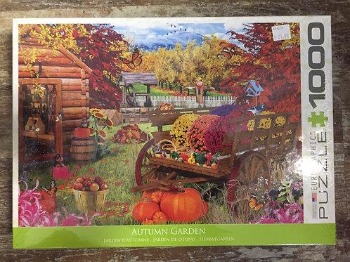 Autumn Garden 1000 Piece Eurographics Puzzle