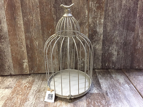 """17.5"""" x 10"""" x 10"""" Metal Bird Cage Decoration by GiftCraft"""