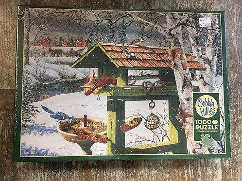 Backyard Banquet - 1000 Piece Cobble Hill Puzzle