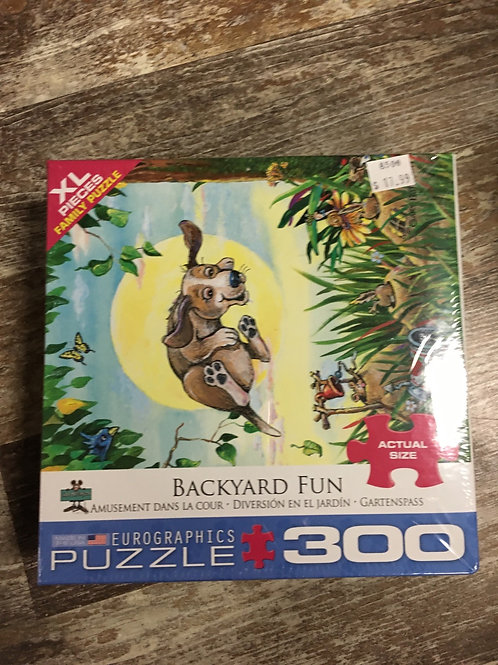 Backyard Fun- 300pc puzzle