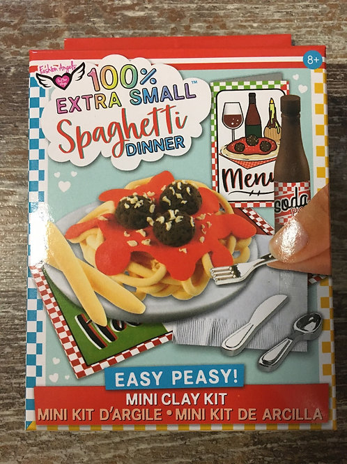 100% Extra Small Spaghetti Dinner Mini Clay Kit by Fashion Angels Enterprises