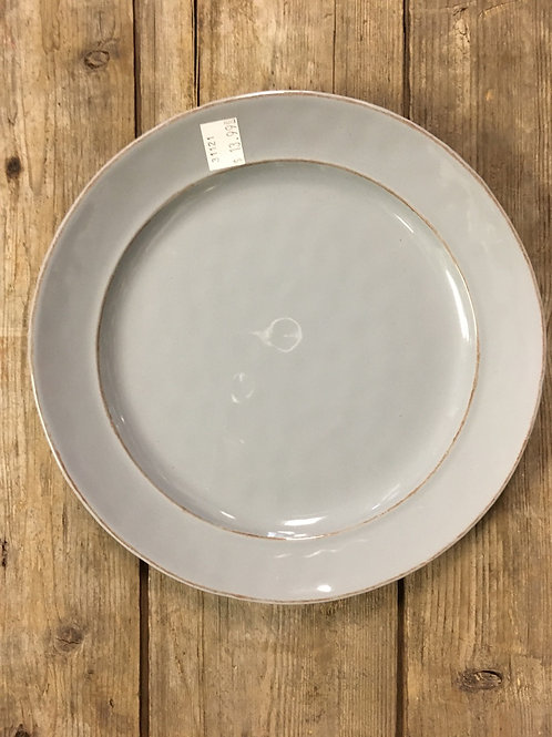 """9"""" Grey Dinner Plate from Carson Home Accents"""