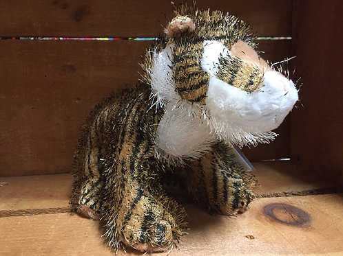 "9"" Tiger Webkinz Plush Stuffed Animal"