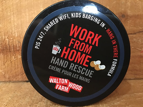 """""""Work from Home"""" Citrus and Herb 4oz Hand Rescue by Walton Wood Farms"""