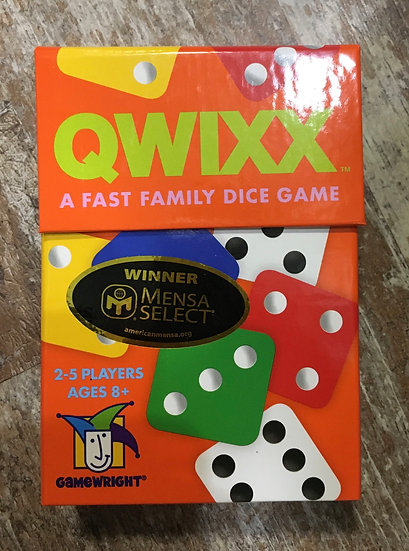 Quixx Family Dice Game