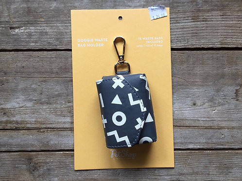 XO Shapes - 15 Bags Included - Doggie Waste Bag Holder