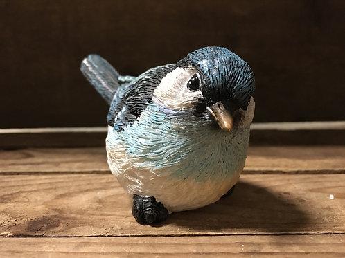 "4"" x 2.75"" x 2"" Blue Resin Bird Figurine by SDS Distributors"