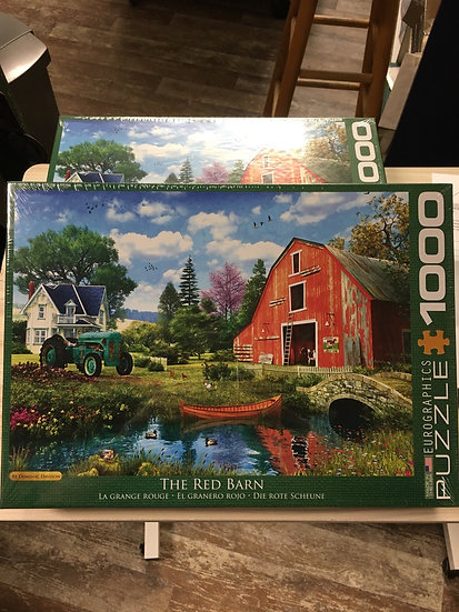 The Red Barn - 1000pc Eurographic Puzzle