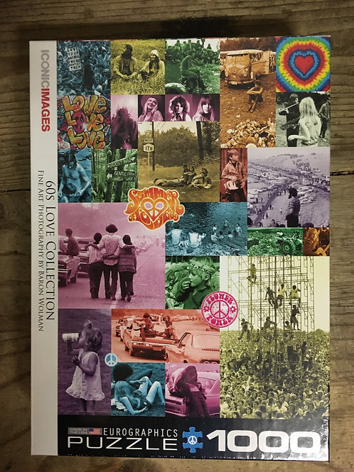 60s Love Collection - 1000pc Eurographic Puzzle