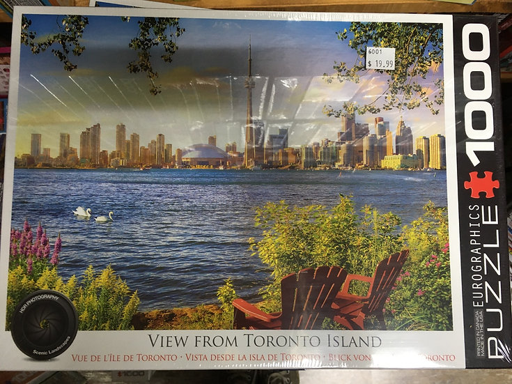 View from Toronto Island- 1000pc Eurographic Puzzle