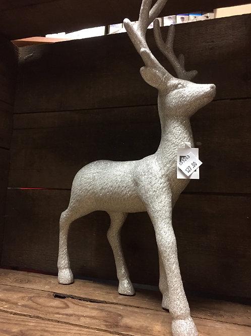 Glittery Reindeer Figurine