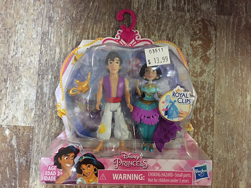 Disney Princess Royal Clips Dolls