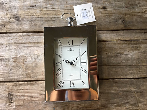 """8"""" x 4.75"""" x 2"""" Standing Clock by GiftCraft"""