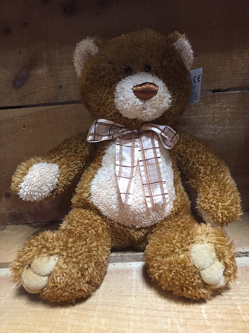 "10"" Brown Sugar Bear Plush Stuffed Animal"