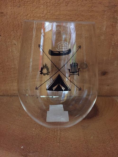 Acrylic Stemless Wineglass