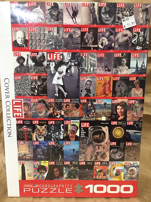 Life Cover Collection - 1000 Piece Puzzle