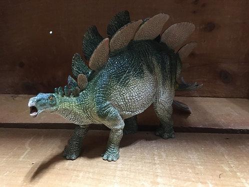 "8"" x 4.5"" Plastic Stegosaurus Toy"