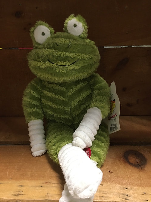 Pickles the Frog Singing Monkeez & Friends  Plush Stuffed Animal
