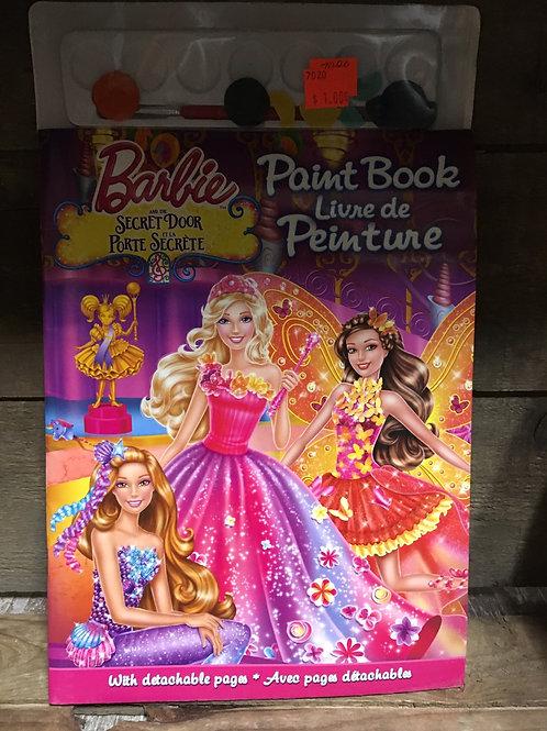 Barbie and the Secret Door Paint Activity Book - Final Sale