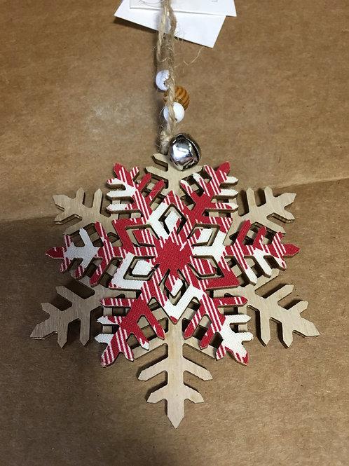 Wooden Tree Ornament
