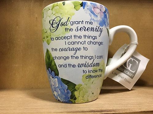 Serenity Prayer Ceramic Mug