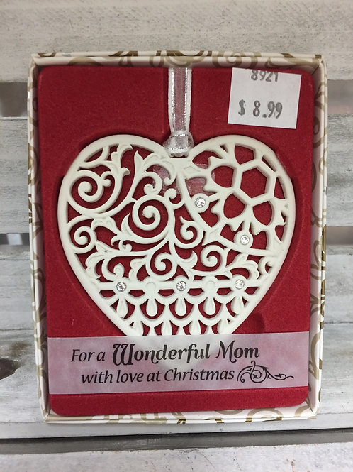 Swarovski Ornament - Wonderful Mom