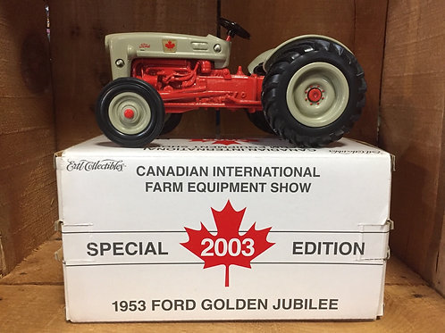 1953 Ford Golden Jubilee Special 2003 Edition 1/16 Die Cast Model Tractor