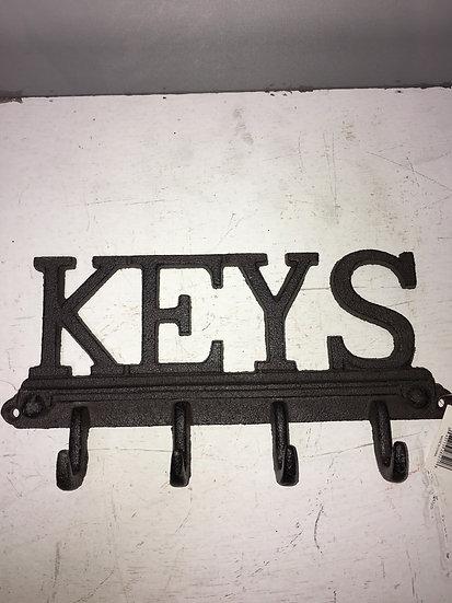 Cast Iron Key Rack