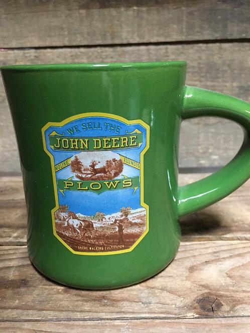 "4"" John Deere ""Plows"" Mug"