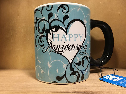 """Happy Anniversary"" Ceramic Mug"