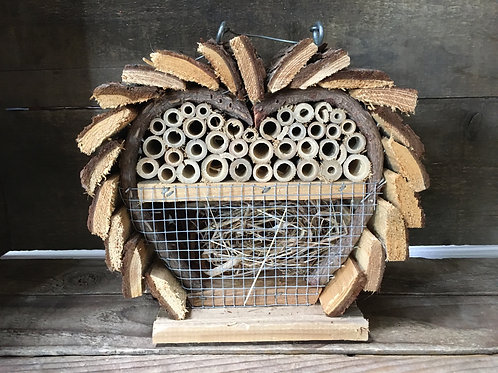 "7.5"" x 7"" x 4"" Hanging Wood Pollinator Home by Koppers Imports"