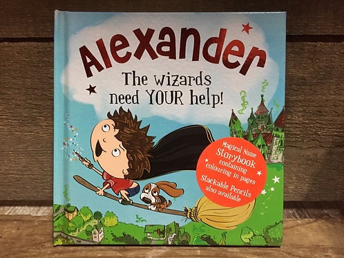 Alexander The Wizards Need Your Help Magical Storytime Book