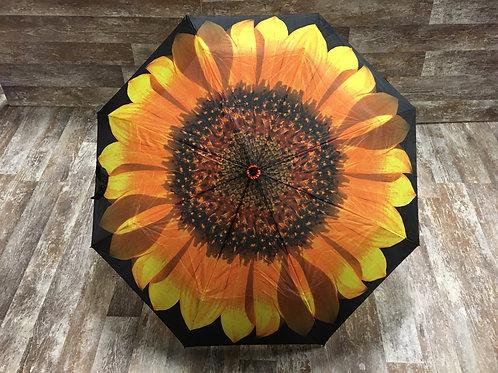 "36"" x 22"" Yellow Sunflower Umbrella by Abbott"