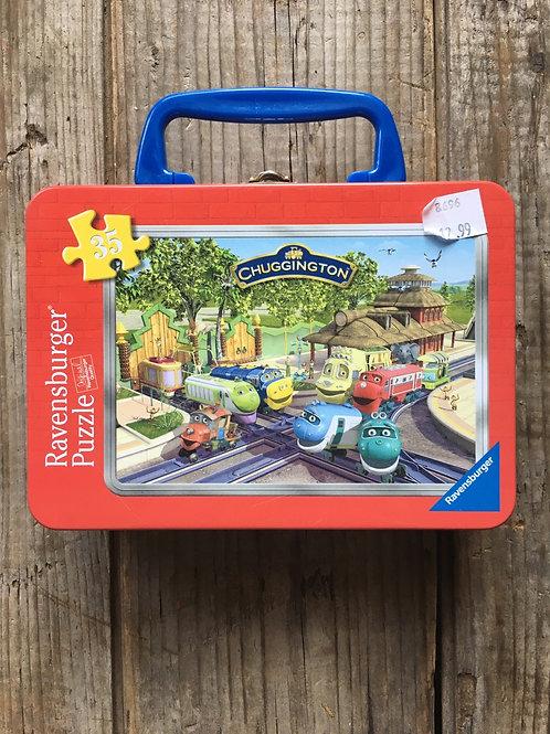 35 Piece Chuggington Ravensburger Children's Puzzle in a Tin