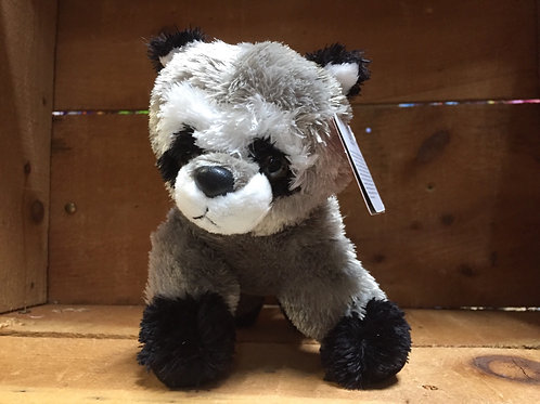 "7"" Rascal the Racoon Aurora Brand Plush Stuffed Animal"