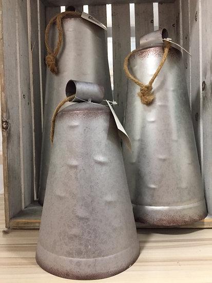 Set of 3 Metal Bells