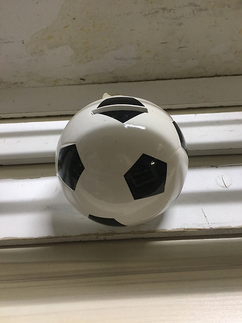 Soccer Ball Piggy Bank