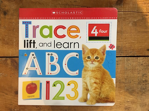 Trace Lift and Learn ABC 123 Board Book Book