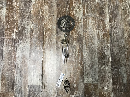 """32"""" x 5"""" Metal Tree of Life Wind Chime by GiftCraft"""