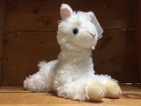 "7"" Ansy Alpalca Aurora Brand Plush Stuffed Animal"