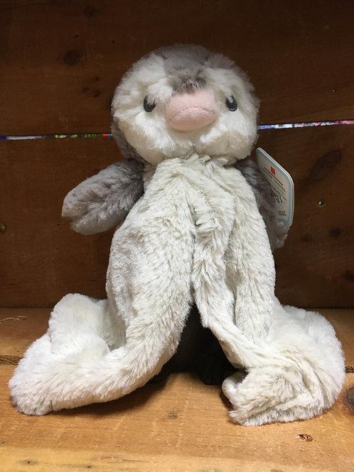 Pom Pom Penguin Luvster Blanket Hand Puppet Aurora Brand Plush Stuffed Animal