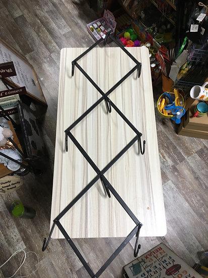 Foldable Cast Iron Wall Hook Rack